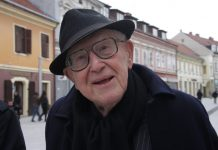 Branko Lustig u Čakovcu, foto: Zlatko Vrzan