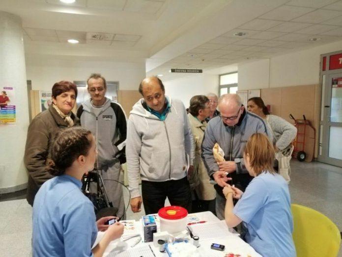 mjerenje šećera u bolnici