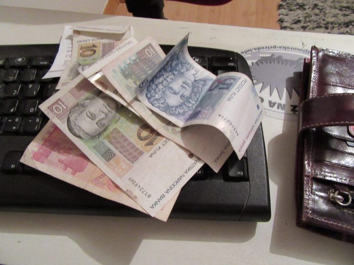 banke gotovina