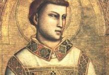Ilustracija, sveti Stjepan