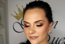 golden queen makeup by dajana