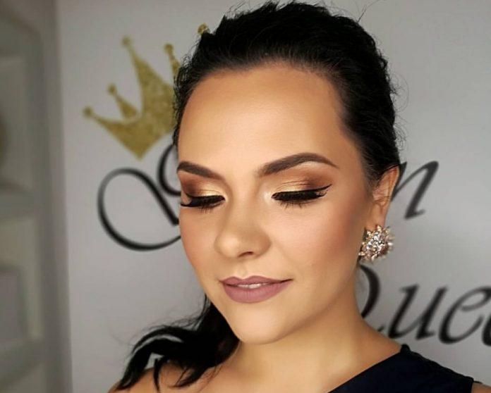 golden queen makeup by dajana