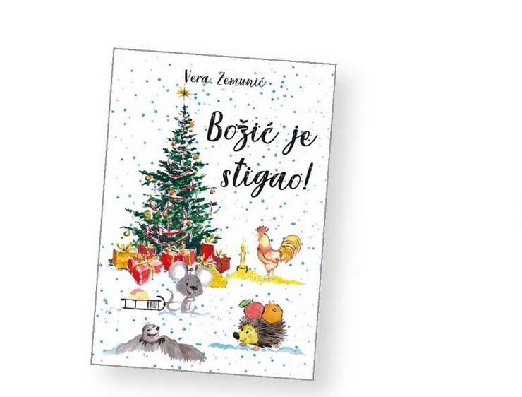 """NAJAVA: Predstavljanje knjige za djecu Vere Zemunić """"Božić je stigao"""""""