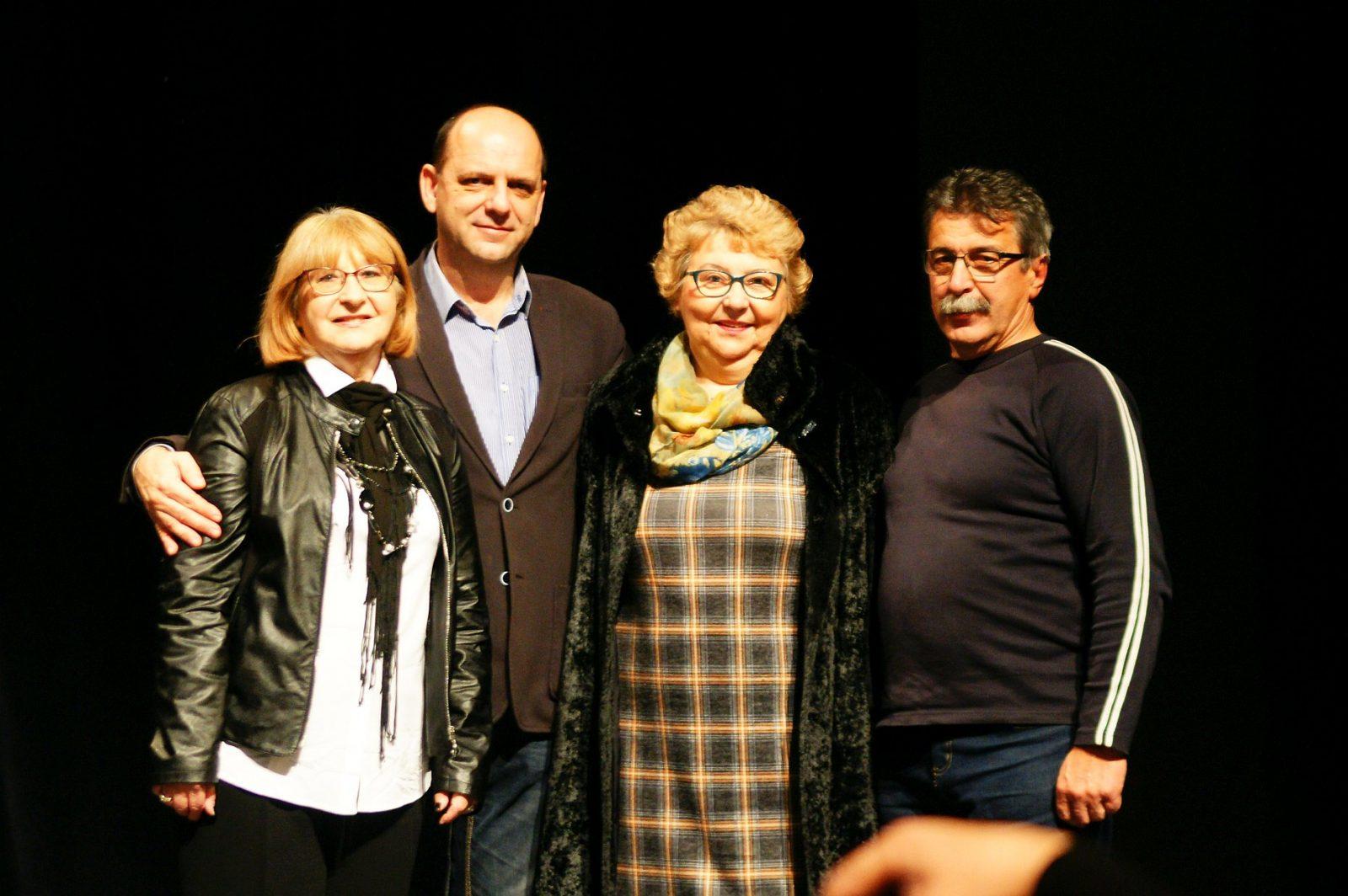 Petrana Sabolek, Dejan Buvač, Dragica Jagec i Ivan Levačić