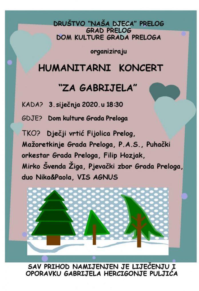 Koncert za Gabrijela