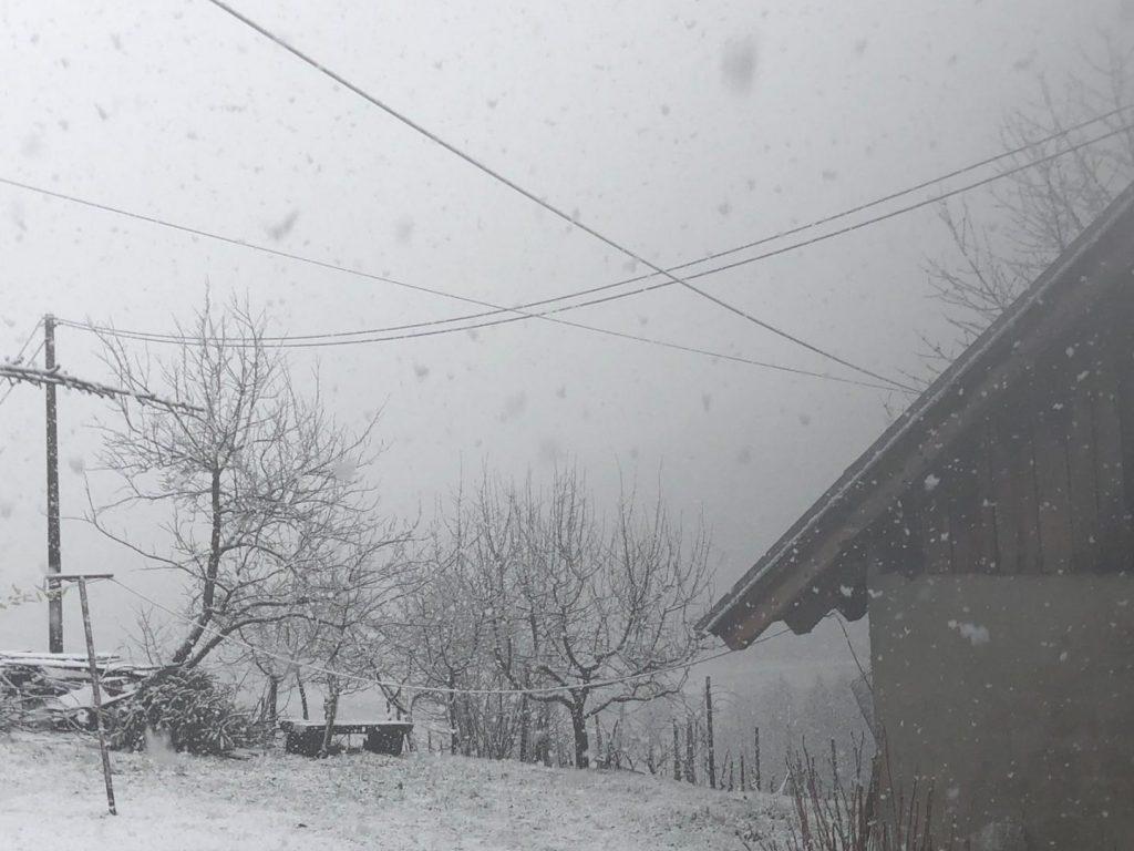 Snijeg u Robadju