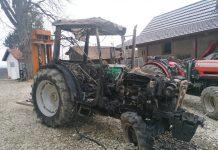 Požar traktor Sveti Urban
