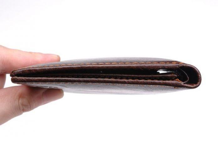 Krađa novčanika, ilustracija
