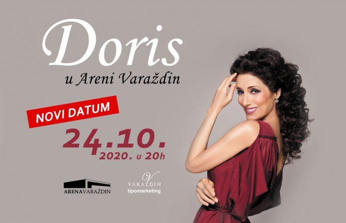 Novi termin koncerta Doris Dragović
