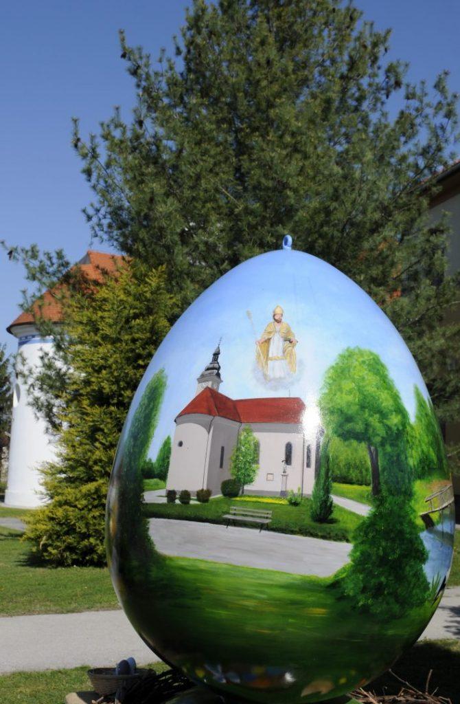 uskrsno jaje sveti martin na muri