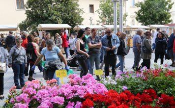 sajam cvijeća i jagoda u Čakovcu