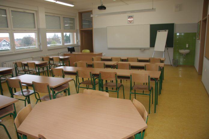 učionica/razred OŠ Orehovica