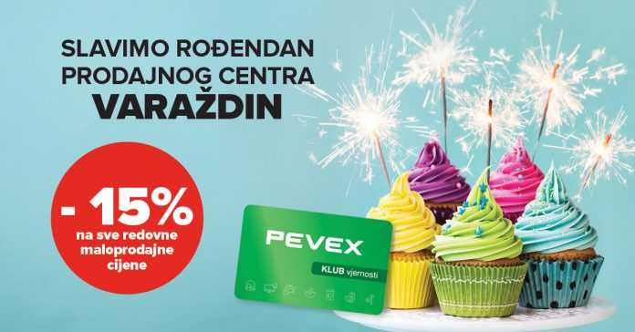 pevex rođendan varaždin