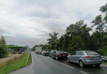 kolona granični prijelaz Mursko Središće