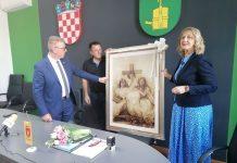 Dražen Srpak i Gordana Lipšinić sklopili su sporazum o brtimljenju Murskog Središće i Ozlja.