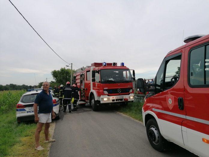 požar kuće Bukovec