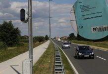 Nadzorna kamera na južnoj obilaznici, ilustracija: Zlatko Vrzan