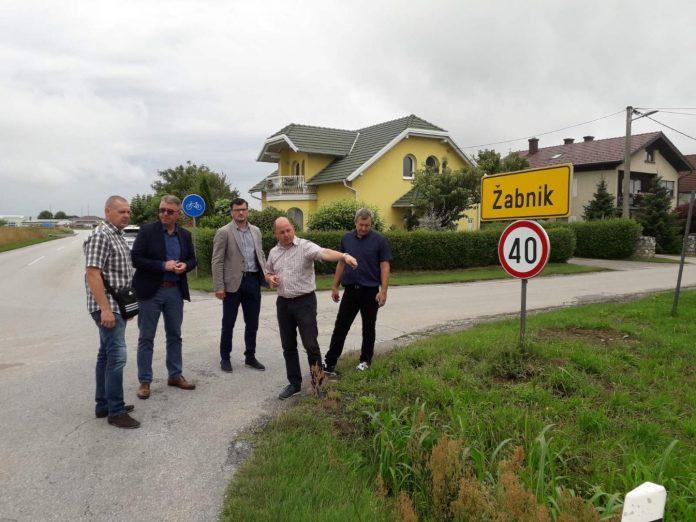 pješačko- biciklistička staza Sv. martin