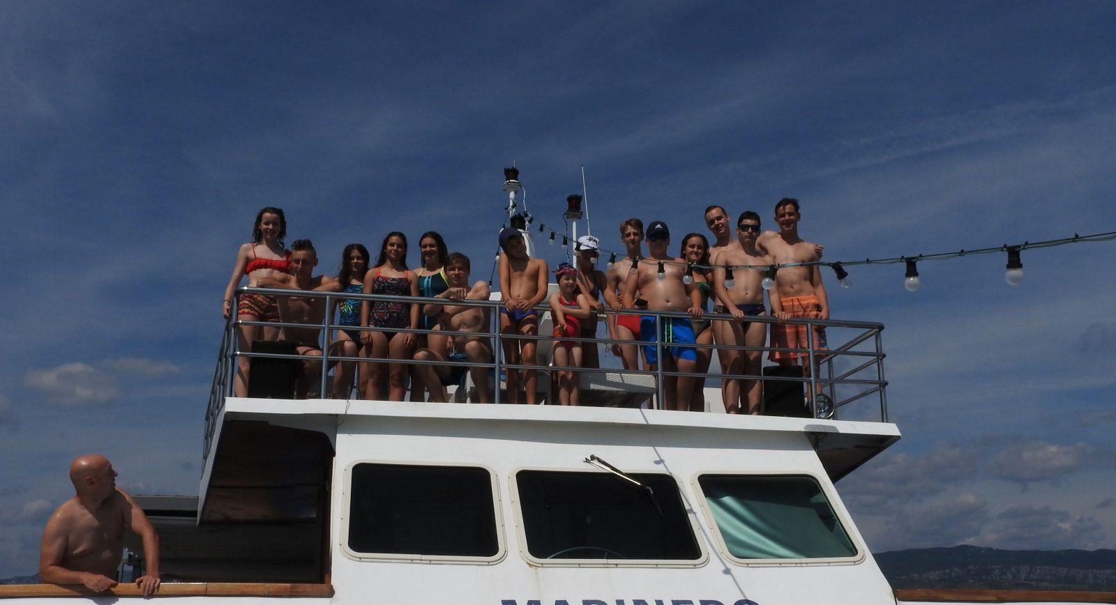 čakovečki plivački klub ljeto katamaran