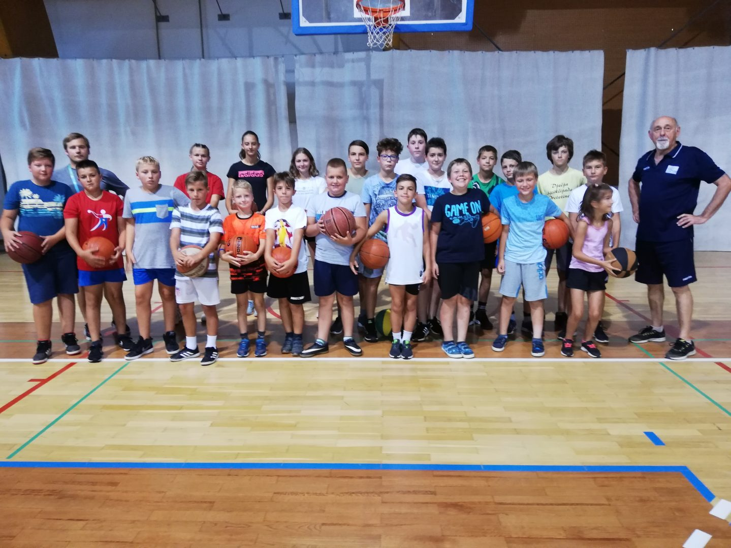 sportsko ljeto nedelišće košarka 1