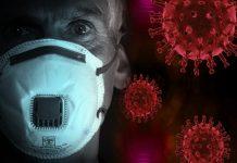 koronavirus maska