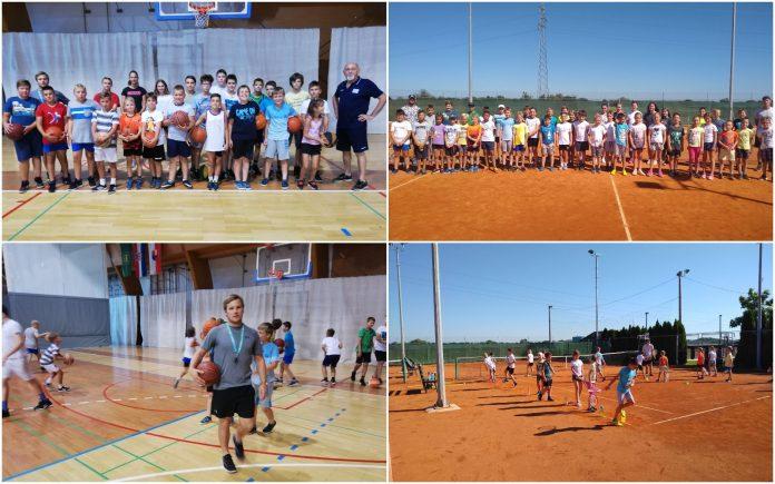 sportsko ljeto nedelišće tenis i košarka