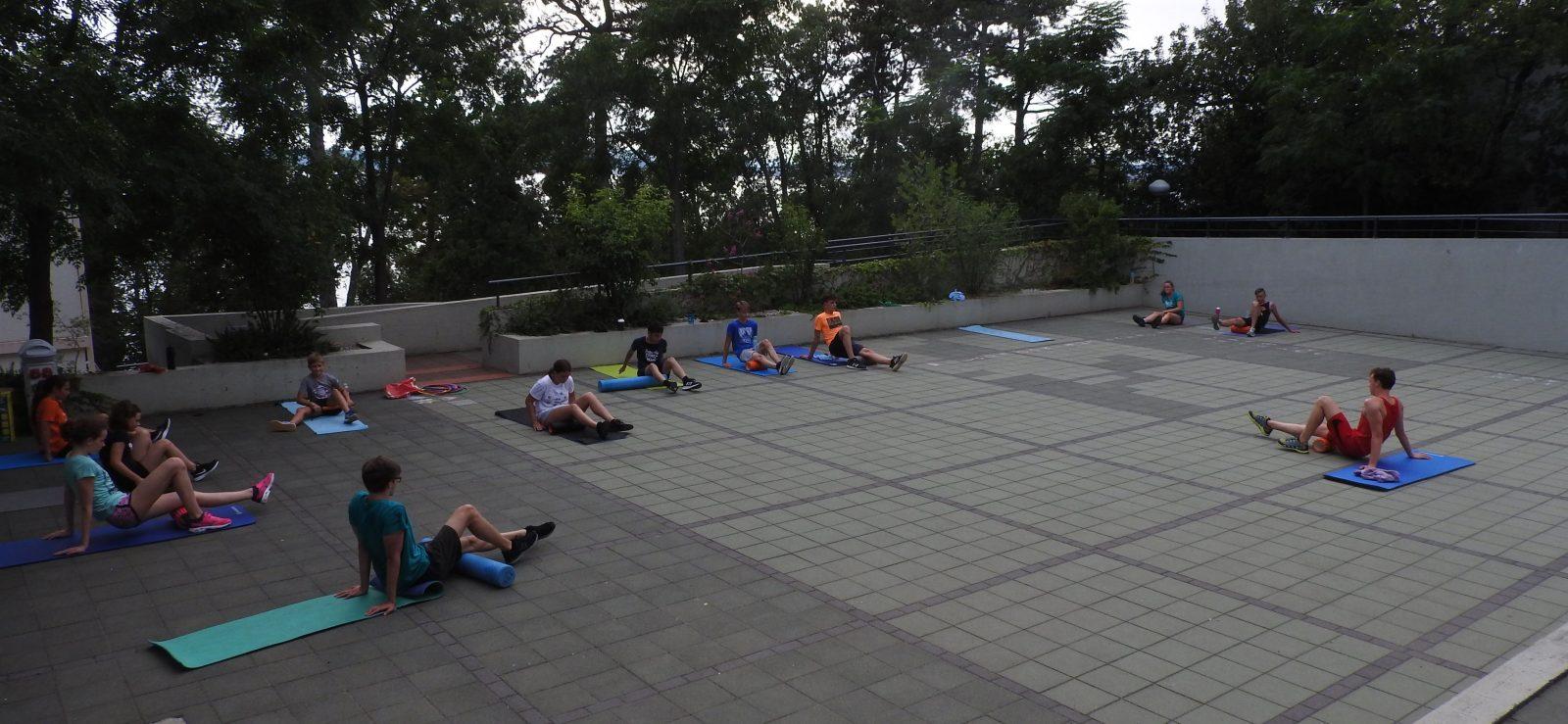 čakovečki plivački klub ljeto vježbanje