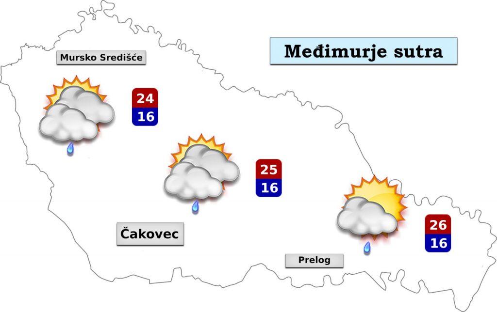 Vremenska prognoza: Danas lijepo, sutra kratko pogoršanje!