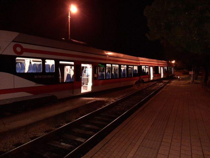 iskakanje vlaka iz tračnice Čakovec