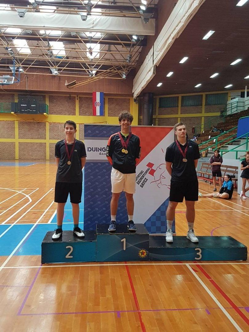 Borna Vadlja u19 pojedinačno badminton