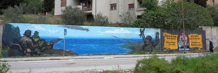 vodice mural oba su pala