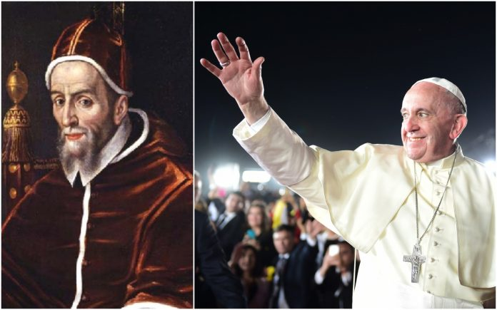 Papa Urban VII. i papa Franjo