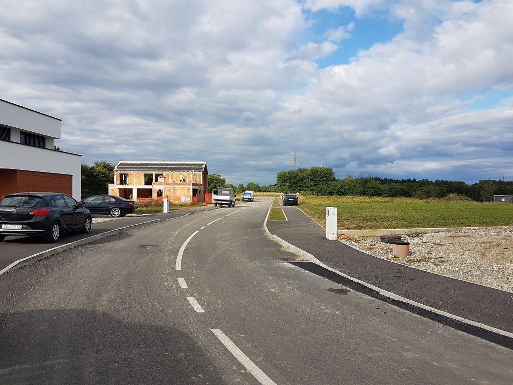 Završena je izgradnja prometnica u zoni Brezje u Mihovljanu