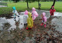 Gumbići na kiši