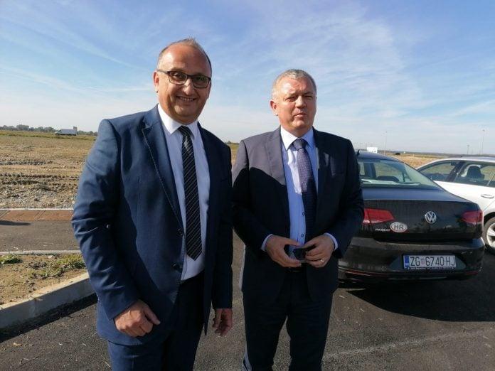 Ministar Darko Horvat i Darko Dania, načelnik općine Nedelišće