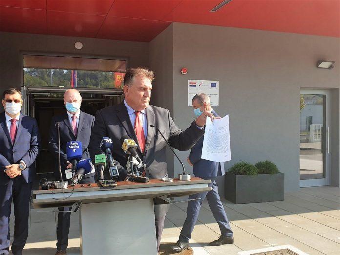 Sastanak petorice župana u Krapini