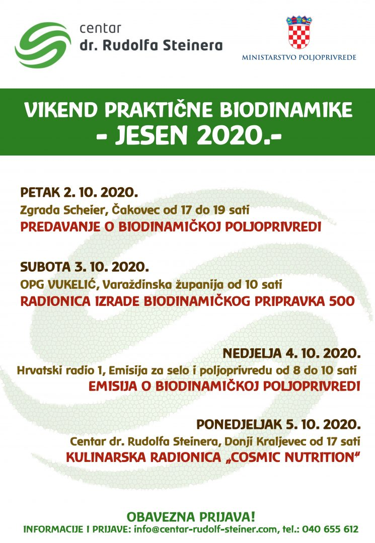 vikend prakticne biodinamike jesen 2020