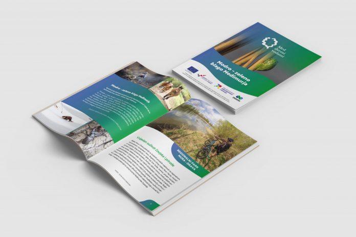 brošura Modro-zeleno blago Međimurja