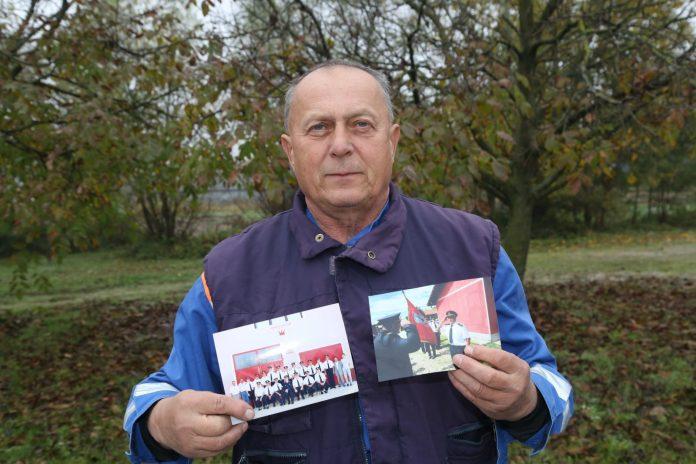 Predsjednik DVD-a Gornji Mihaljevec Zdravko Mikulan