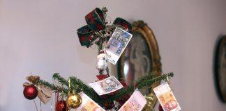 bor novčanice božićnice