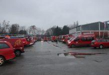 HVZ-vatrogasne snage prije odlaska na teren