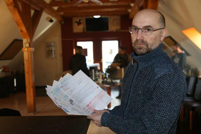Čakovečki ugostitelj Boris Bistrović ističe kako računi dalje uredno stižu, a zbog zabrane rada priljeva novaca nema
