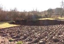 rupa nakon potresa