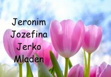 jeronim, jozefina, Jerko, Mladen