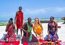 Martina u Zanzibaru ove zime