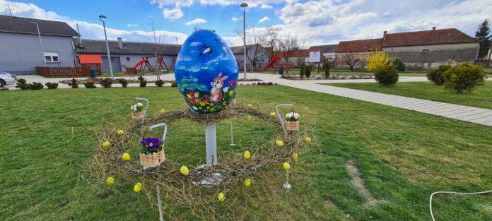 uskrsno jaje u palovcu