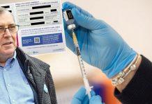 Potvrde koje dobivaju cijepljene osobe (gore lijevo), Krunoslav Capak (lijevo) i ilustracija cijepljenja (glavna fotografija) Cropix