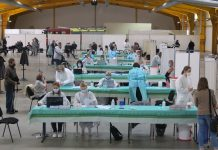 Cijepljenje dvorana MESAP