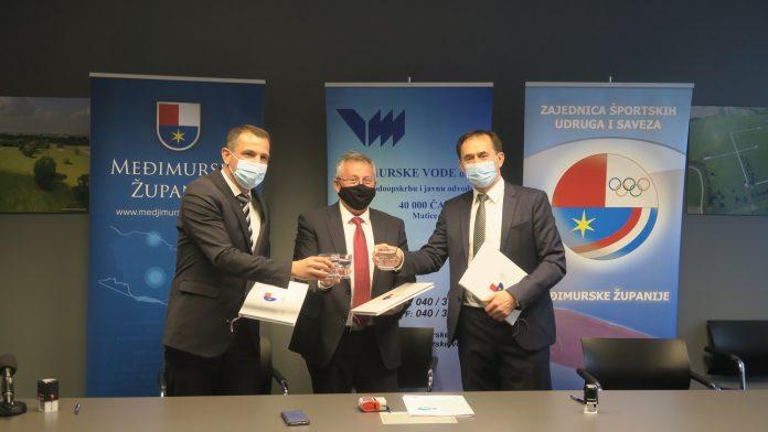 Međimurske vode partner projekta Međimurje-Europska regija sporta 2022