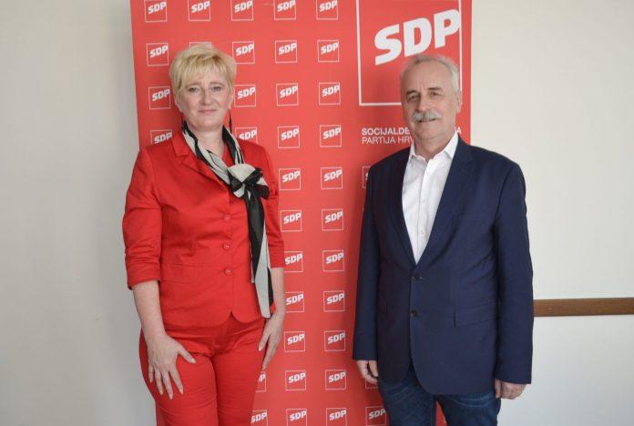 Mirjani Murk podršku je dao Mladen Novak predsjednik SDP-a Međimurske županije